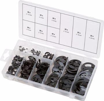 Immagine di Assortimento di anelli elastici di sicurezza 970.0110 KS TOOLS