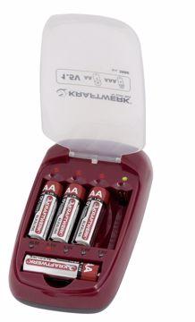 Immagine di Caricabatterie universale AA, AAA 3886 KRAFTWERK