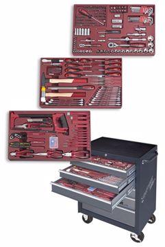 Immagine di Carrello porta utensili, 6 cassetti da 336 pezzi KRAFTWERK 1096